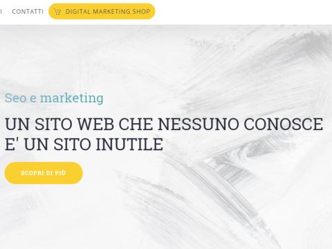 Realizzazione sito web marketing