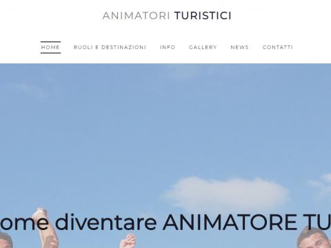 Sito web per animatori turistici