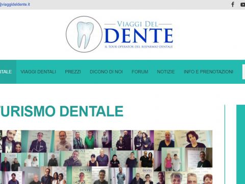 Sito web per dentista